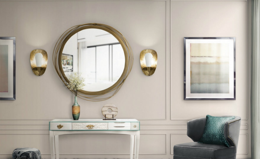 featured wall mirrors Stunningly Polished Wall Mirrors for a Unique Home Decor featured 5