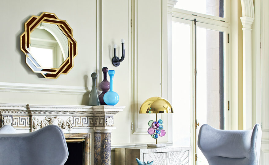 featured round wall mirrors Be Delighted by 10 Marvelous Round Wall Mirrors featured 7