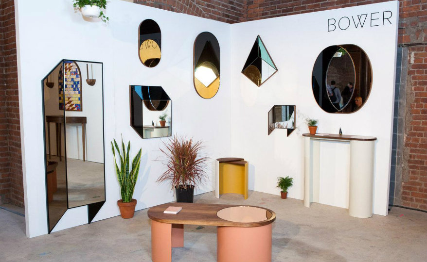 Bower featured Bower NYC 5 Mind-Blowing and Contemporary Graphic Mirrors by Bower NYC Bower featured