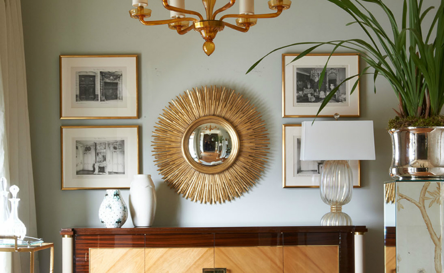 Be Inspired by Jan Showers' Outstanding Wall Mirror Designs