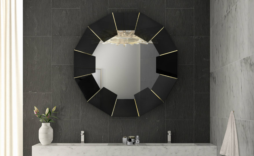 10 Oversized Mirrors that Are the Perfect Match to Any Bathroom Set