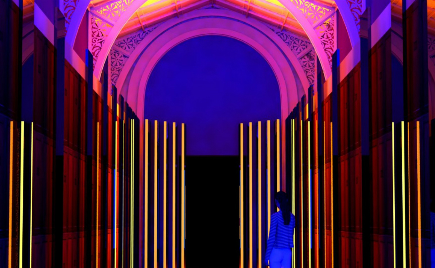 London Design Festival – Explore the Reflection Room by Flynn Talbot