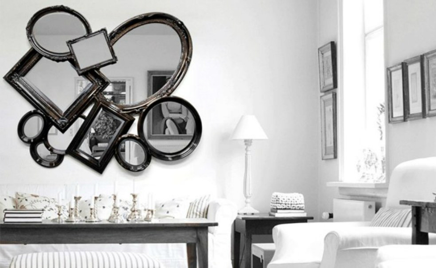 contemporary wall mirrors These Are the Best Contemporary Wall Mirrors You'll Find on Pinterest featured 18