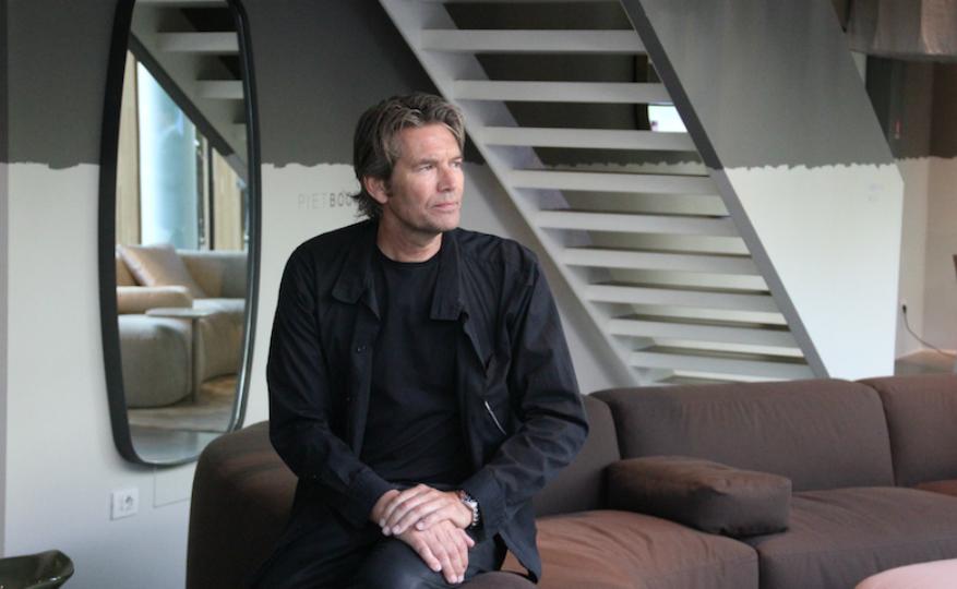 Meet Piet Boon's Stunning Steel-Framed Wall Mirror Design