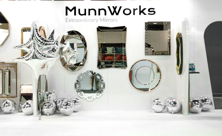 wall mirror designs Discover the New Extraordinary Wall Mirror Designs of MunnWorks featured 2