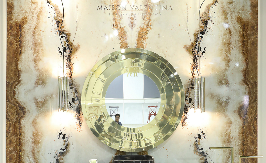 Luxury bathrooms Maison Valentina's Blaze Mirror Is a Great Choice for Luxury Bathrooms featured 4