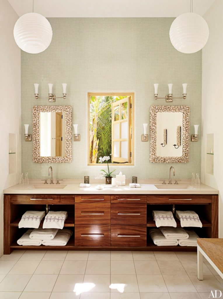 Know How To Make A Statement In Your Bathroom Set With Wall Mirrors 1