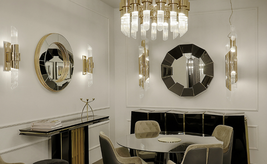 modern design LUXXU's New Wall Mirrors Embody Modern Design to the Fullest featured 8
