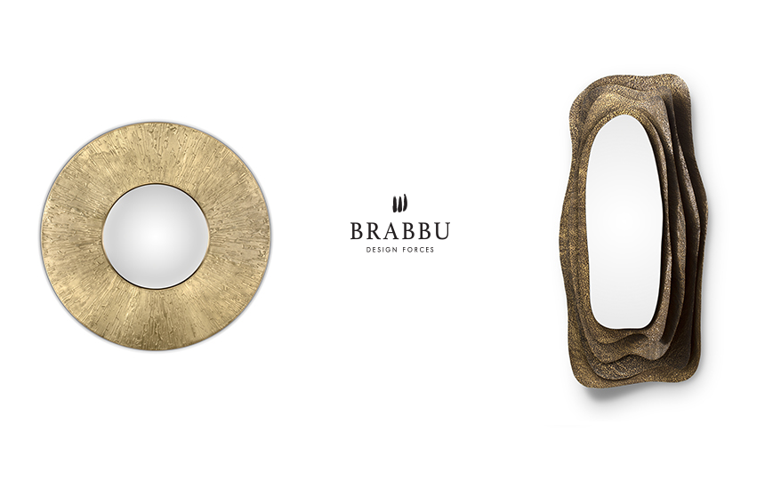 wall mirrors BRABBU's Newest Wall Mirrors Bring Fierceness to Any Interior Space featured