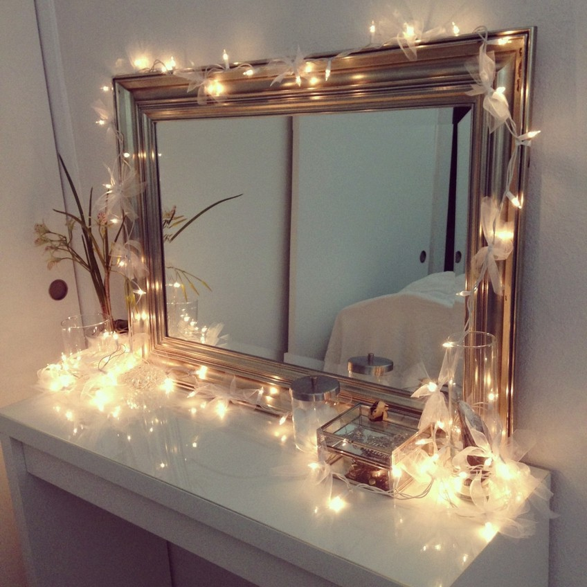 Decorating Tips Exciting On How To Match Christmas Lights With Mirrors