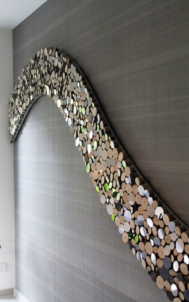 Completely new Lee Borthwick's Wave Wall Sculpture is Perfect for Your Living Room FT05