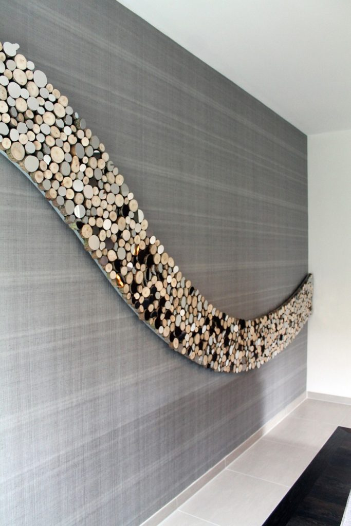 Well known Lee Borthwick's Wave Wall Sculpture is Perfect for Your Living Room NL85