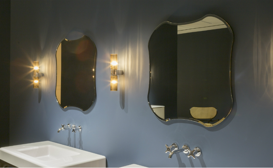 Discover Antonio Lupi's Bespoke and Radiant Bathroom Mirrors