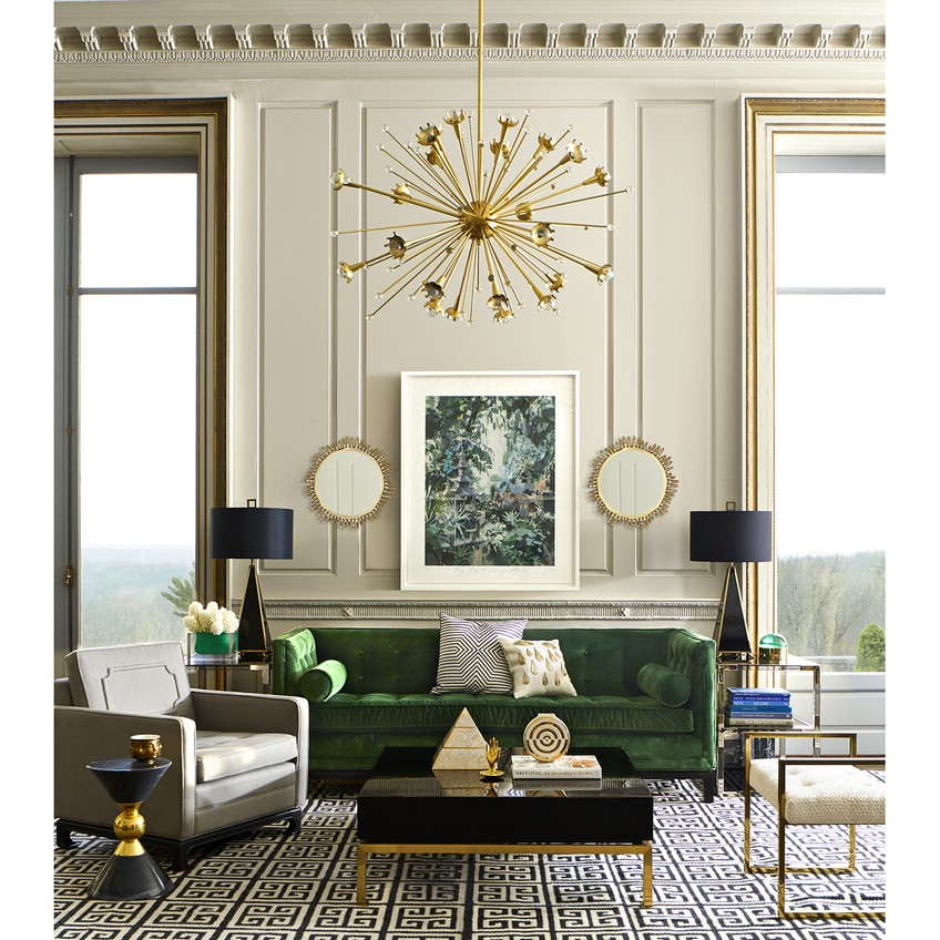 Meet the Sculpted Eve Wall Mirror Designed by Jonathan Adler
