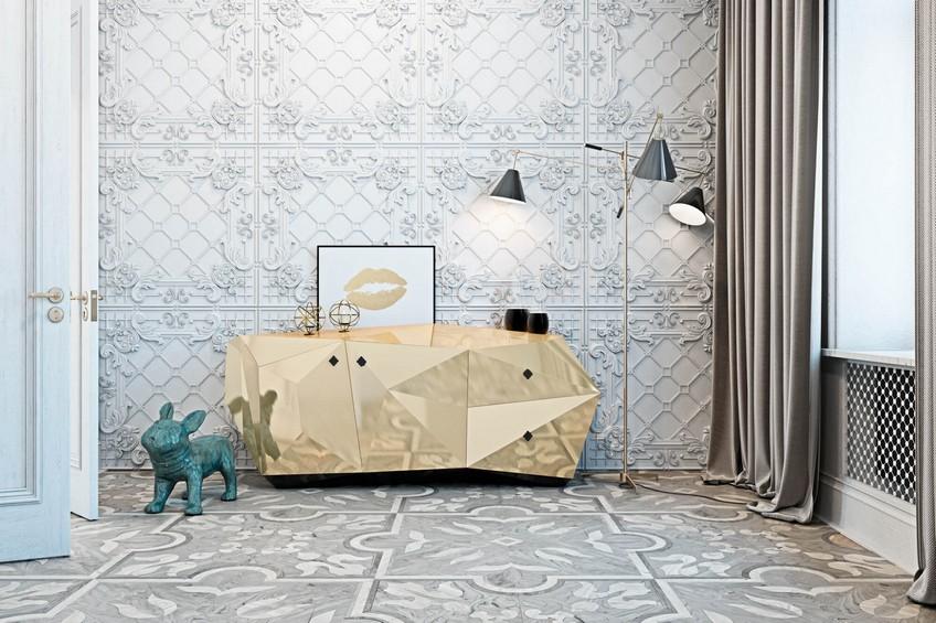A Venetian Mirror Dramatically Enhances this Superb Bathroom Design 2 Bathroom Design A Venetian Mirror Dramatically Enhances this Superb Bathroom Design A Venetian Mirror Dramatically Enhances this Superb Bathroom Design 2