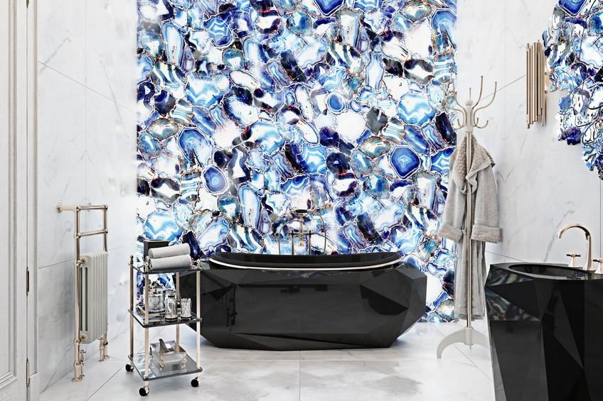 A Venetian Mirror Dramatically Enhances this Superb Bathroom Design 3 Bathroom Design A Venetian Mirror Dramatically Enhances this Superb Bathroom Design A Venetian Mirror Dramatically Enhances this Superb Bathroom Design 3