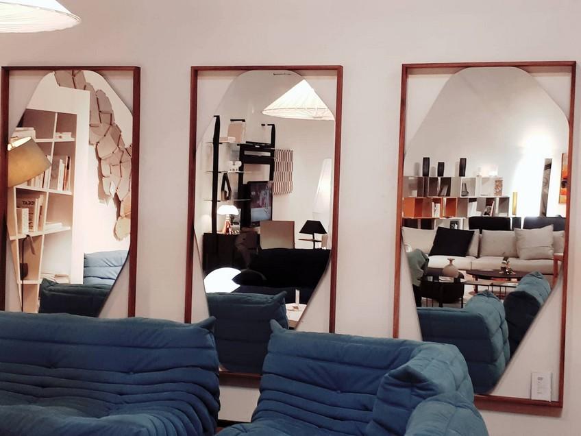 kensaku oshiro designed this extraordinary mirror for. Black Bedroom Furniture Sets. Home Design Ideas
