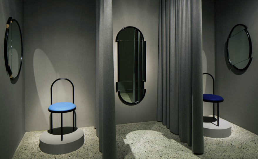 Be Fascinated by the Originality of Lee Broom's Split Wall Mirrors