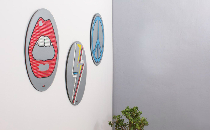 Be Stunned by the Pop Character of Seletti's BLOW Wall Mirror Designs
