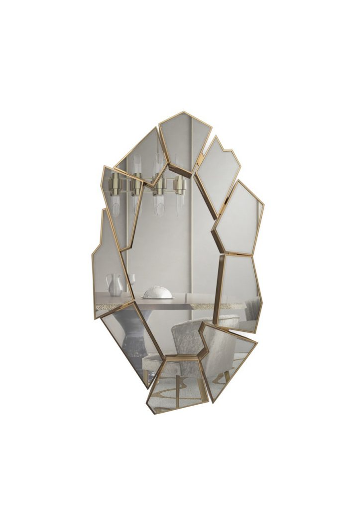 Innovative Design Discover the Unconventional Crackle Mirror by LUXXU 9 full-lenght wall mirror Fall In Love With This Perfect Full-Lenght Wall Mirror Innovative Design Discover the Unconventional Crackle Mirror by LUXXU 9