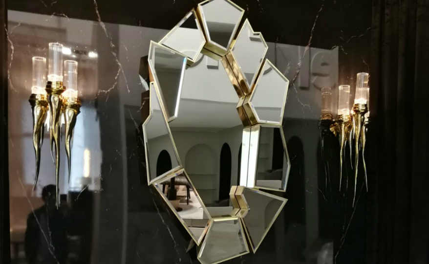 Innovative Design: Discover the Unconventional Crackle Mirror by LUXXU