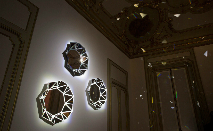 Marcel Wanders' Diamond Mirror for Les Petits Nomades by Louis Vuitton