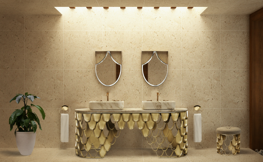 A Look at the Visually Appealing Wall Mirrors of Maison Valentina
