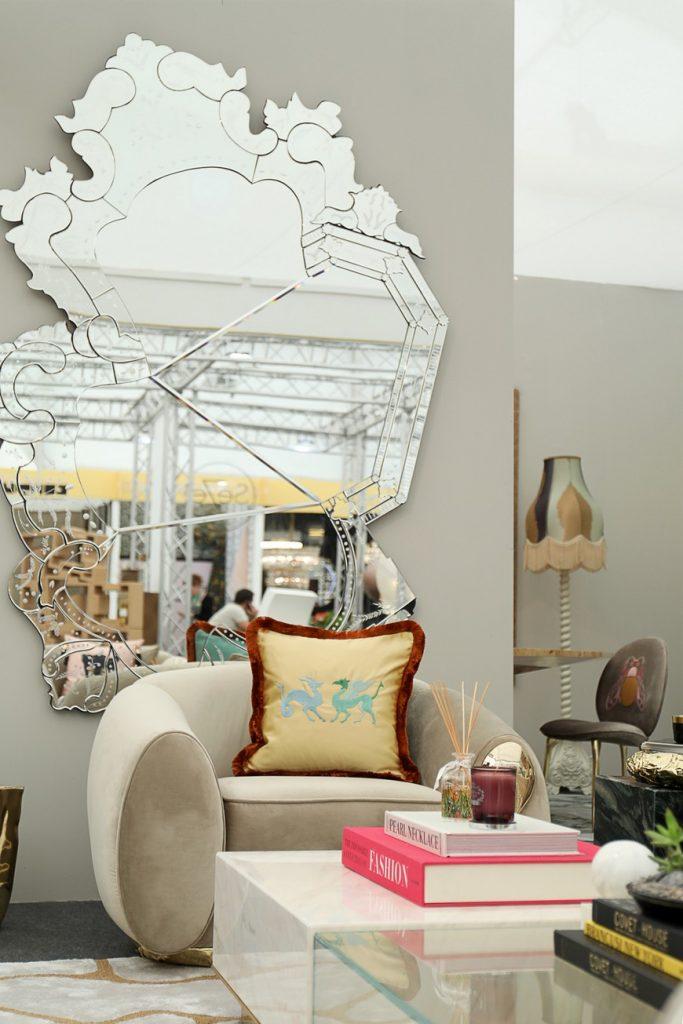 wall mirror designs Discover the Best Wall Mirror Designs Shown at Decorex International Discover the Best Wall Mirror Designs Shown at Decorex International 9