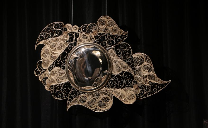 Homo Faber 2018: Take a Peek at an Astonishing Filigree Mirror Design
