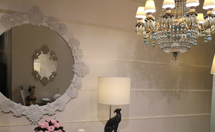 NYC Design Showroom Lladró's New NYC Design Showroom Features Outstanding Mirror Designs featured 2