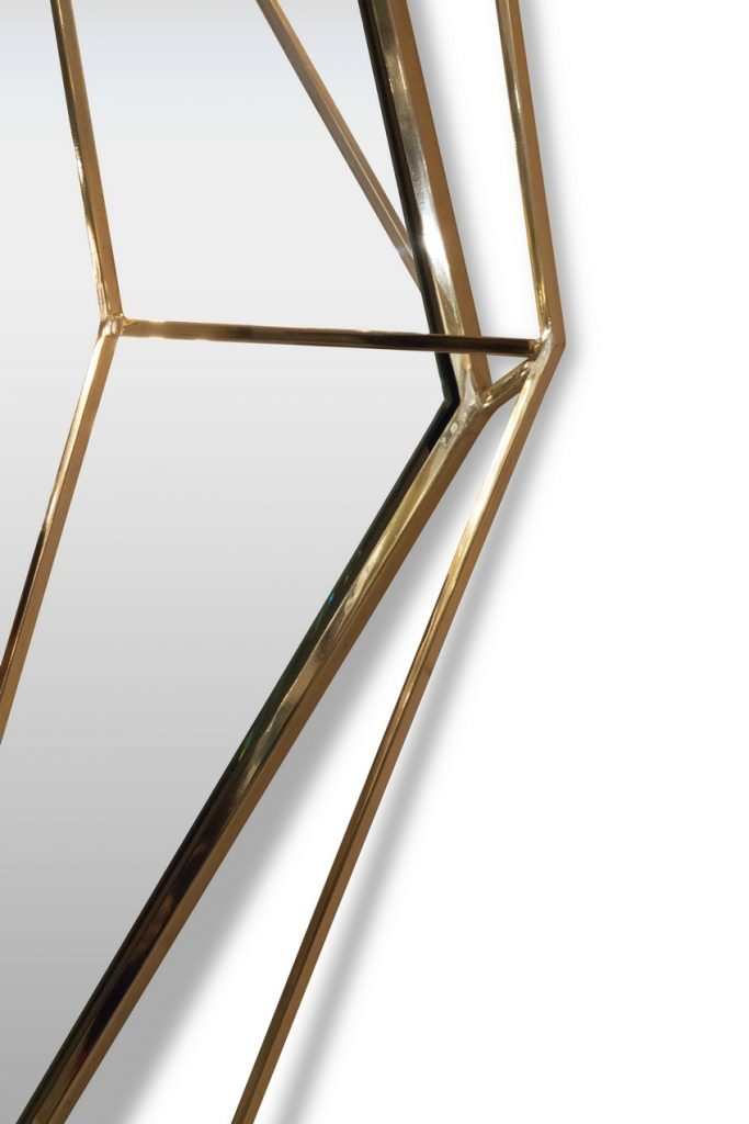 This Noteworthy Mid-Century Modern Mirror Takes the Shape of a Diamond Mid-Century Modern This Noteworthy Mid-Century Modern Mirror Takes the Shape of a Diamond This Noteworthy Mid Century Modern Mirror Takes the Shape of a Diamond 7