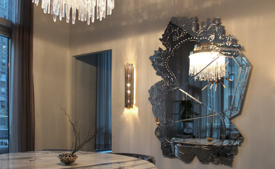The Newly Inaugurated COVET NYC Features Three Massive Wall Mirrors