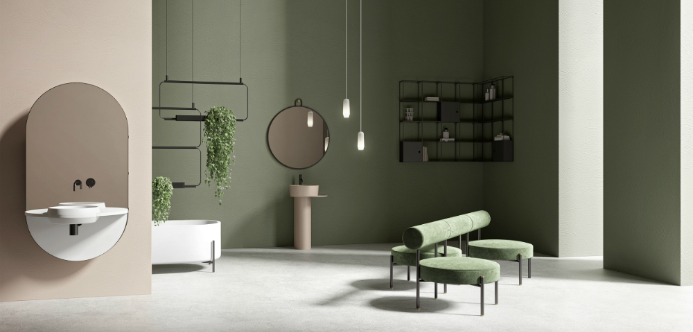 Discover Ex.T's Nouveau Bathroom Collection at Maison et Objet 2019