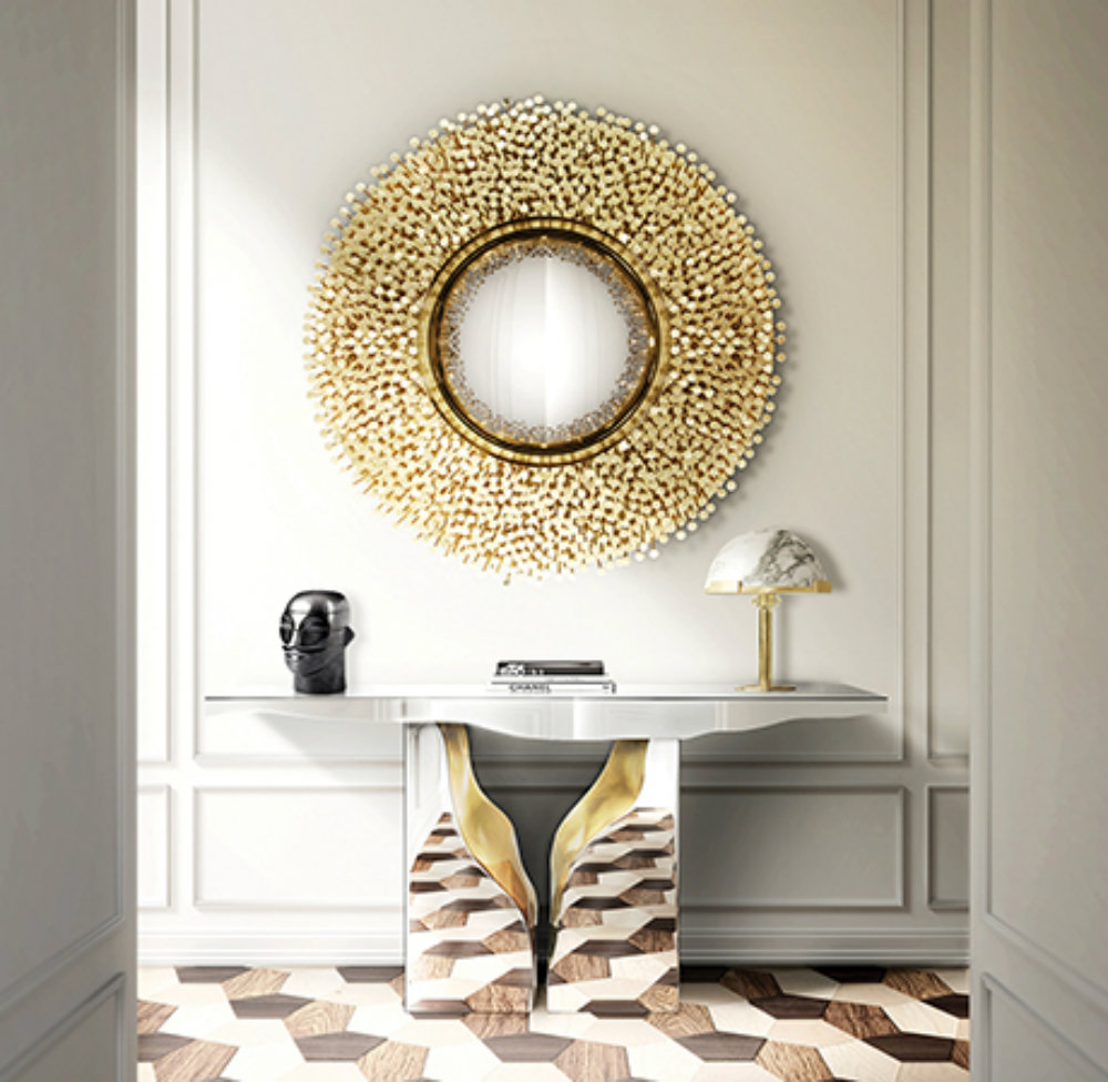 Gold mirrors to enrich your life 2 gold mirrors Gold mirrors to enrich your life Gold mirrors to enrich your life