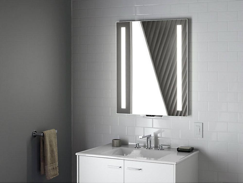 bathroom mirror Meet a new luxurious intelligent bathroom mirror Meet a new luxurious intelligent bathroom mirror 2