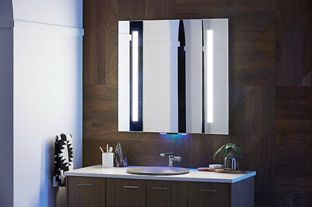 Meet a new luxurious intelligent bathroom mirror 2 bathroom mirror Meet a new luxurious intelligent bathroom mirror Meet a new luxurious intelligent bathroom mirror
