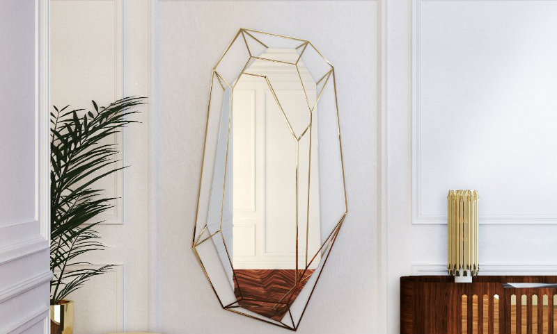 Resize every room with these oversized mirrors