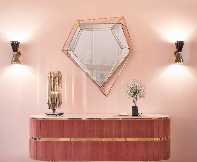 Inspire Your Home Décor With Geometric Mirrors