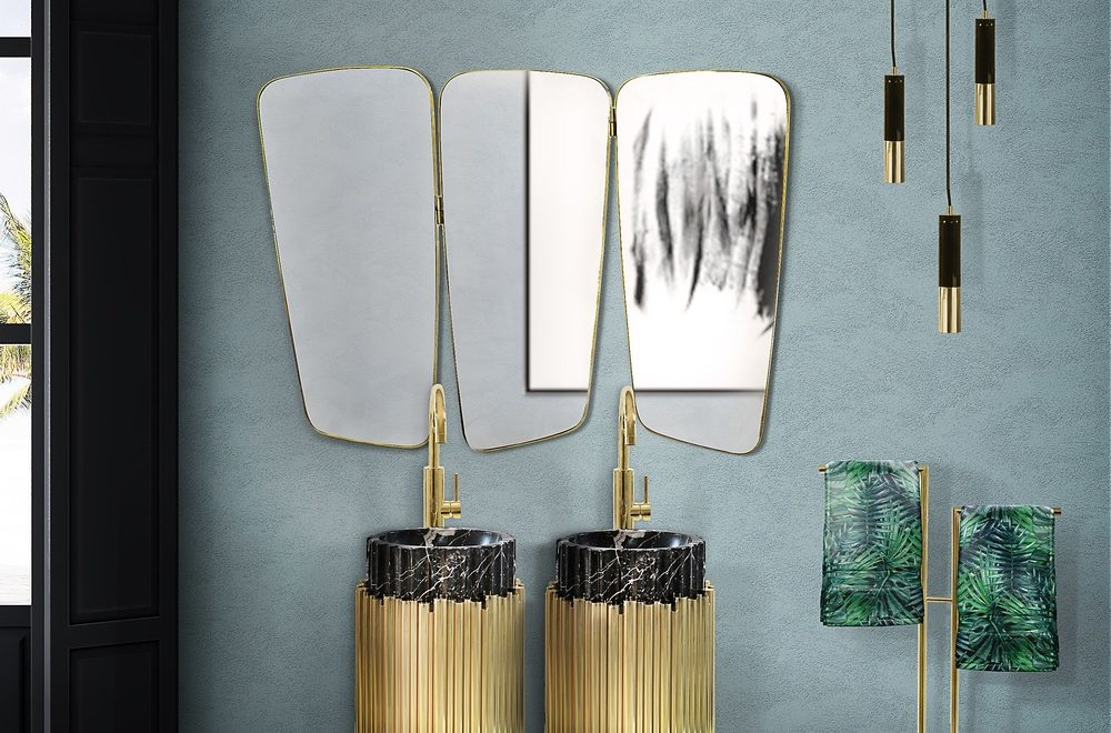 5 Ideas For Luxury Mid-Century Retro Mirrors