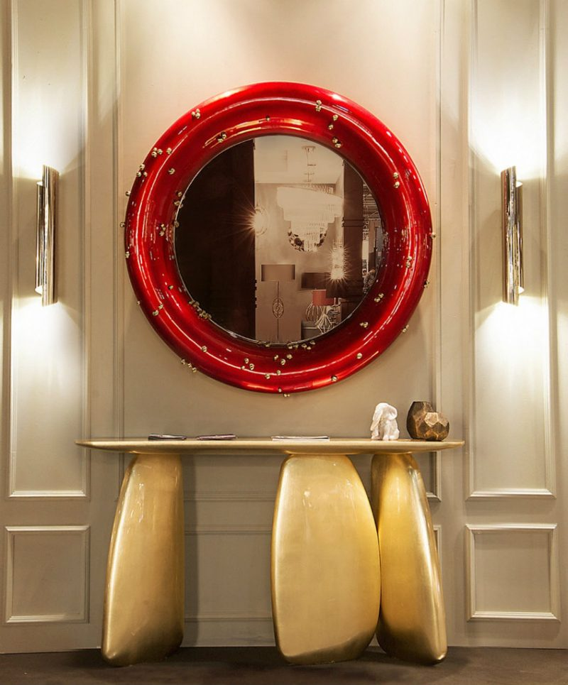 Be Amazed by the Top Interior Designers Selection of Mirrors top interior designers mirrors Be Amazed by the Top Interior Designers Selection of Mirrors Belize Mirror by BRABBU e1553528281562