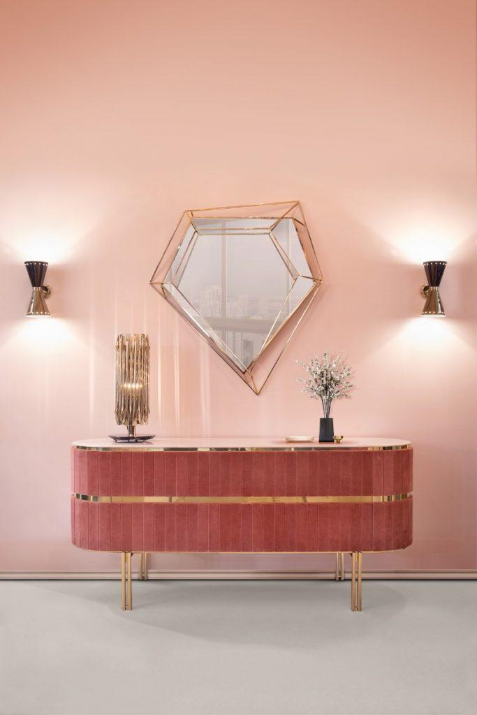 5 Ideas For Luxury Mid-Century Retro Mirrors luxury mid century retro mirrors 5 Ideas For Luxury Mid-Century Retro Mirrors Essential Home ambiences living room 5
