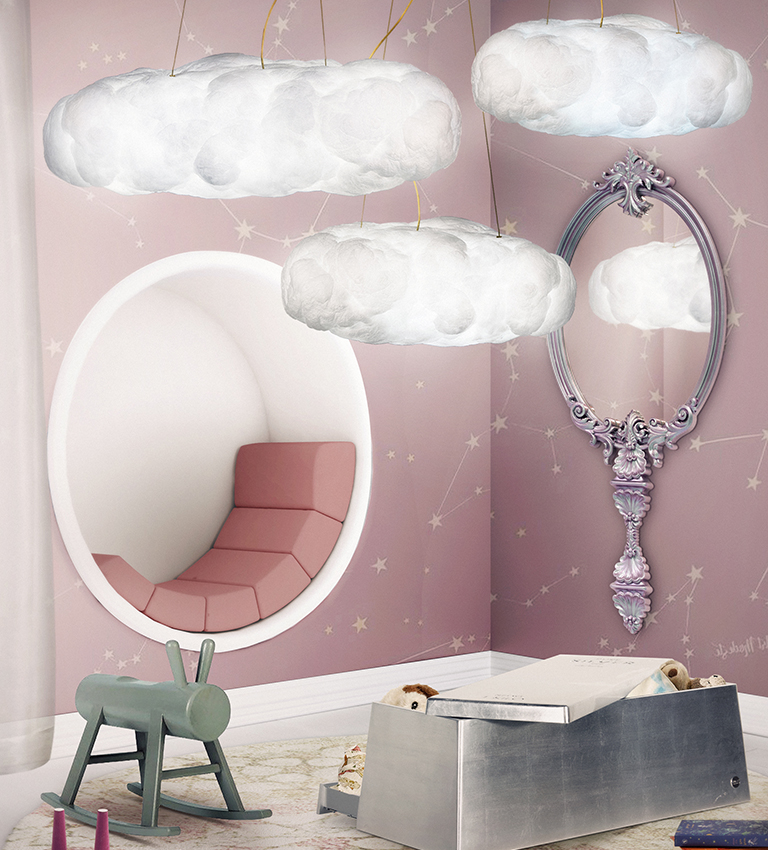 Mirror Inspirations To Complete Your Kid's Bedroom  mirror inspirations kid bedroom Mirror Inspirations To Complete Your Kid's Bedroom chameleon pink mirror circu magical furniture 1