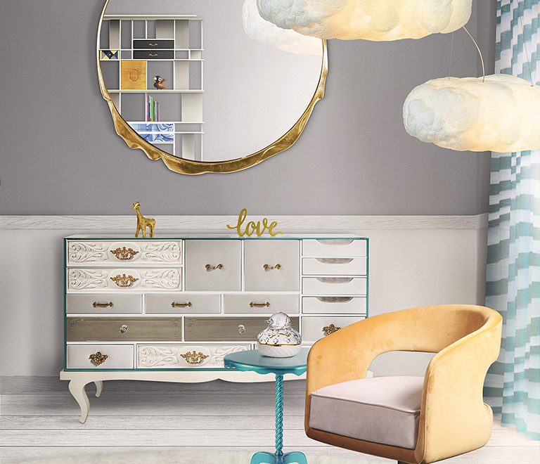Mirror Inspirations To Complete Your Kid's Bedroom