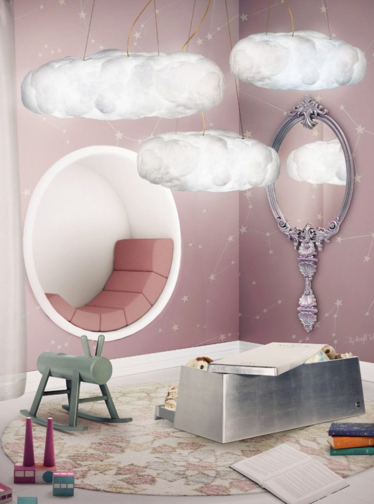 This Magical Mirror Will Make Your Dreams Come True  magical mirror This Magical Mirror Will Make Your Dreams Come True cloud lamp big circu magical furniture 2