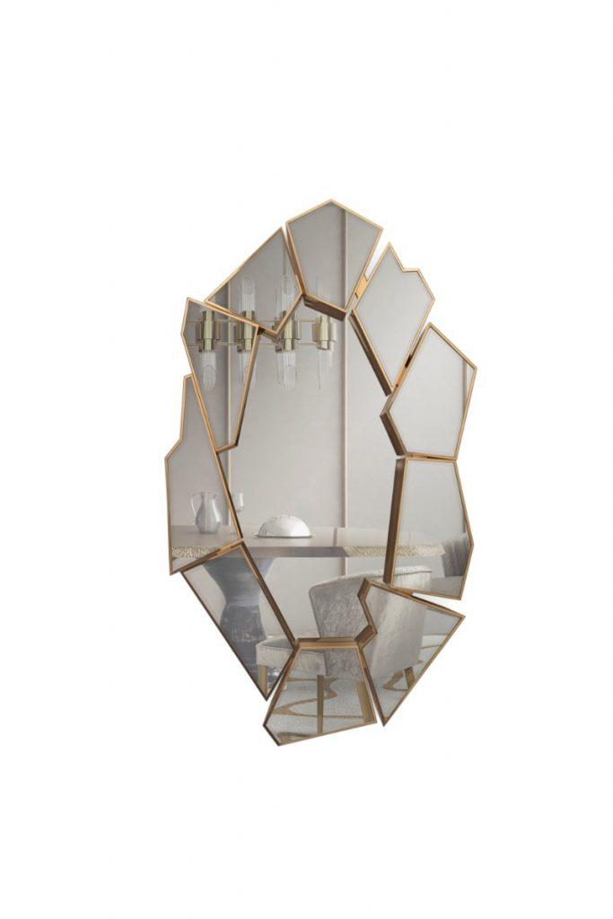 Exquisite Mirror Choices By Top Interior Designers  exquisite mirror choices Exquisite Mirror Choices By Top Interior Designers crackle mirror 01