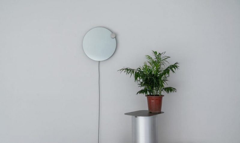 Atelier JM Designs A Wall Mirror That Resembles An Eclipse atelier jm Atelier JM Designs A Wall Mirror That Resembles An Eclipse eclipse mirror lamp Atelier JM 7 e1553851704800