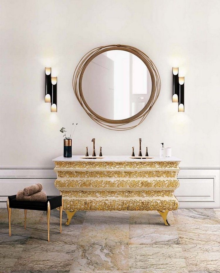 5 Wall Mirror Inspirations To Complete Interior Décor Trends  wall mirror inspiration 5 Wall Mirror Inspirations To Complete Interior Décor Trends fe08f6bcdadda2eced5e090d9119f9d4