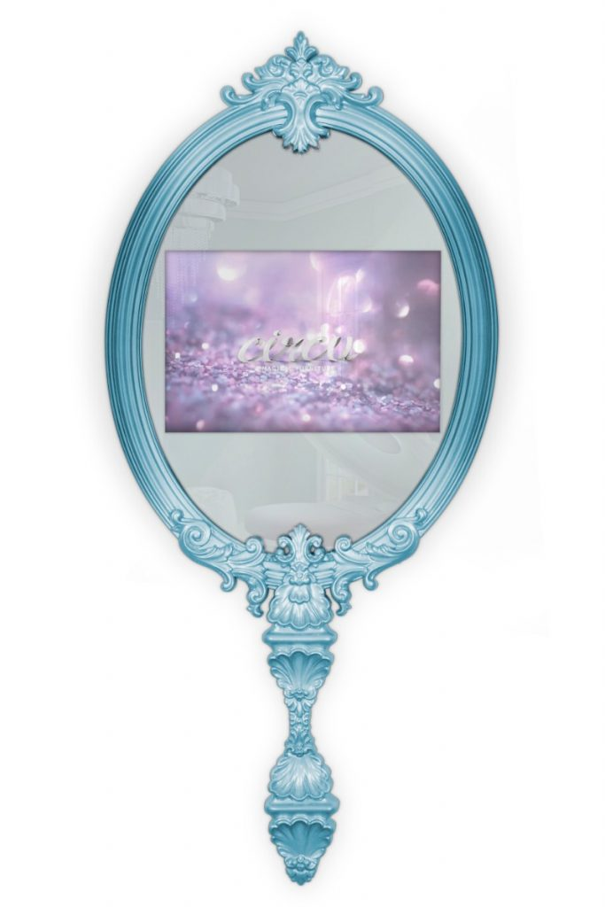 magical mirror This Magical Mirror Will Make Your Dreams Come True magical mirror blue circu magical furniture 1