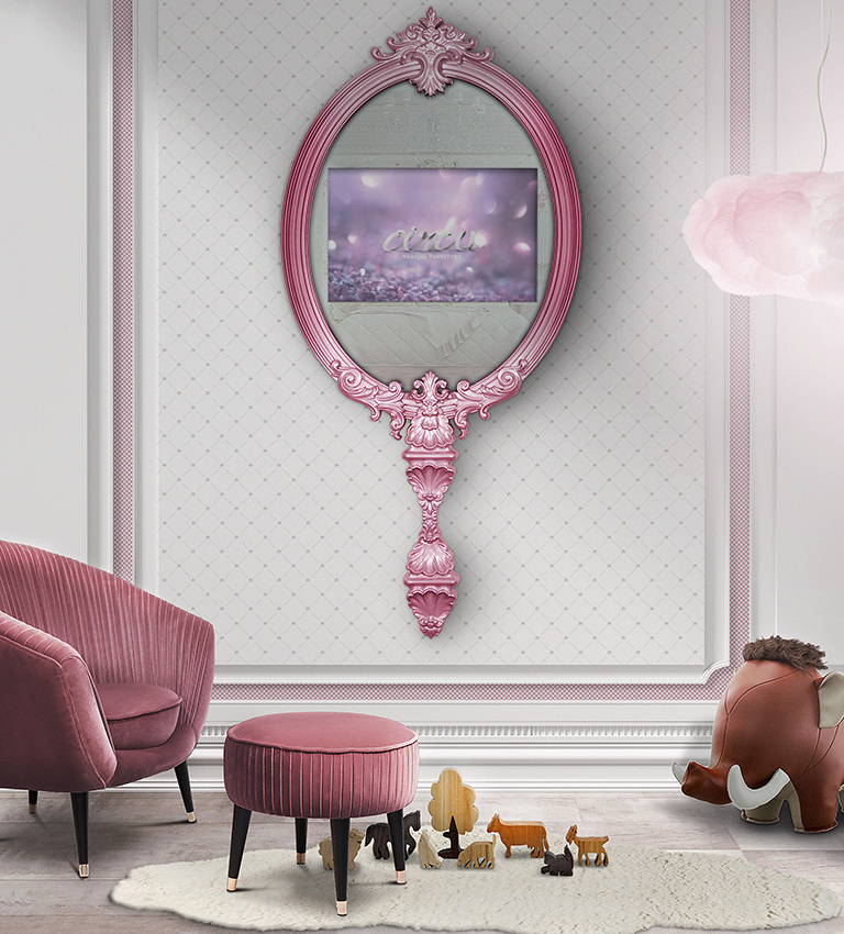 Mirror Inspirations To Complete Your Kid's Bedroom mirror inspirations kid bedroom Mirror Inspirations To Complete Your Kid's Bedroom magical mirror circu magical furniture 1 1