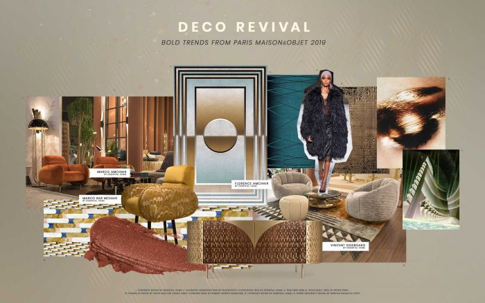 Deco Revival Trend Presents The Finest Mirror Selection deco revival trend Deco Revival Trend Presents The Finest Mirror Selection moodboard collection deco revival interior decor trend for 2019 1 700x438